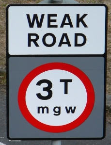Weak Road